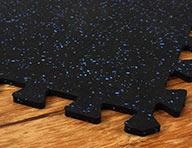 "3/8"" Sport-Lock Rubber Tiles"