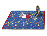 Joy Carpets Scribbles Kids Rug