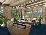 Wide Ribbed Carpet Tile