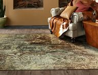 Serenity Bon Adventure Winter Mist Area Rug