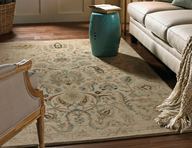 Serenity Sentiment Butter Pecan Area Rug