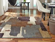 Dryden Oak Park Flint Area Rug