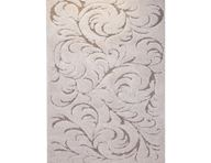 Canyon Floral Swirls Ivory Area Rug
