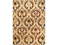 Catalina Flower Scroll Ivory Area Rug