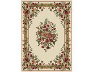 Optimum Formal Floral Ivory Area Rug
