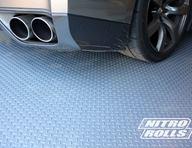 Diamond Nitro Roll Remnants - Stainless Steel