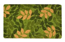 Green Leaf Coir Doormat