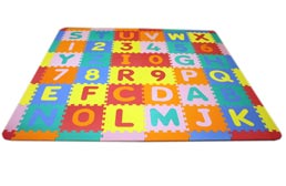 Medium Foam ABC-123 Mat