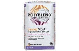 Polyblend Sanded Grout
