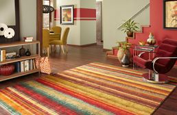 New Wave Boho Stripe Area Rug