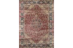 Zahara Persian Vase Red Area Rug
