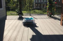 EP Decking Grooved Edge Board - Wide