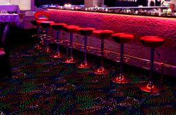 Joy Carpets Neon Lights Carpet - Dancing Lights