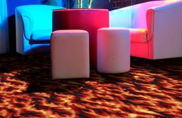 Joy Carpets Neon Lights Carpet - Inferno