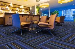 Joy Carpets Lined Up Carpet Tile