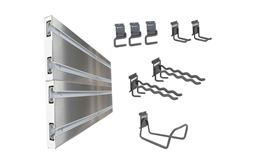 Ulti-MATE Garage Slat Wall 10-Piece Kit