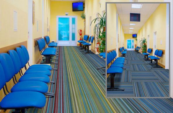 Joy Carpets Parallel High Quality Carpet Tile Squares