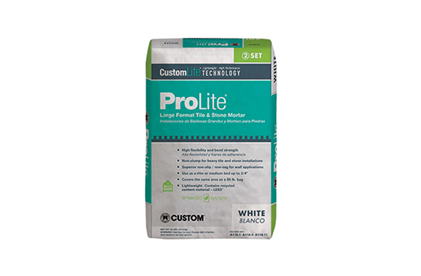 ProLite Large Tile & Stone Mortar - White