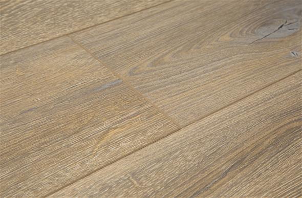 Mega clic vintage white oak wood look laminate plank for Clic laminate flooring