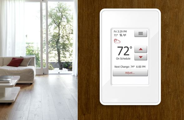 nSpire Touch WiFi Floor Heating Thermostat