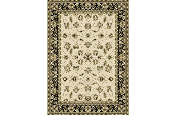 Optimum Traditional Floral Ivory Area Rug