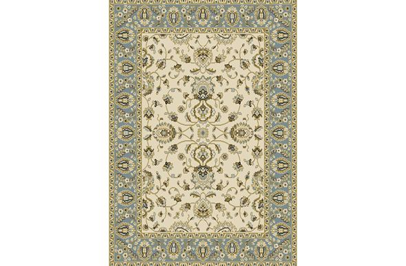 Optimum French Floral Ivory Area Rug