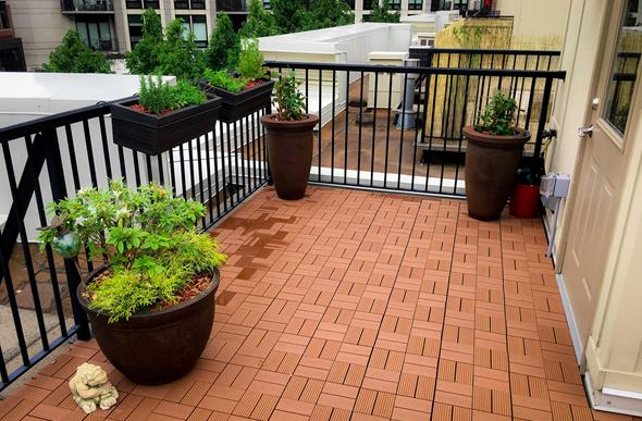Naturesort Deck Tiles (8 Slat)