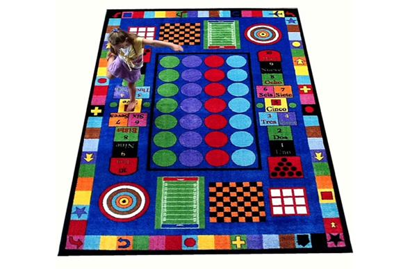 Game Time Kids Rug