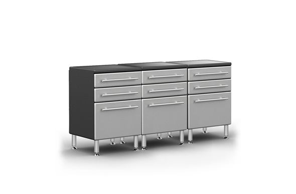 Ulti-MATE Garage Pro 3-Drawer Base Cabinet Kit
