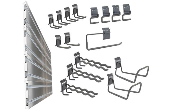 Ulti-MATE Garage Slat Wall 20-Piece Kit