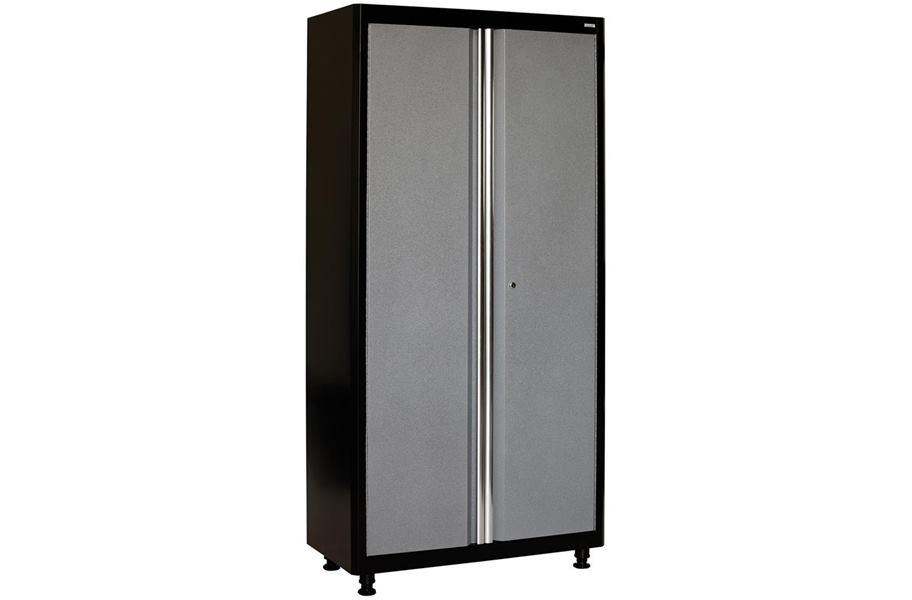 american heritage 2 door tall garage storage cabinet. Black Bedroom Furniture Sets. Home Design Ideas