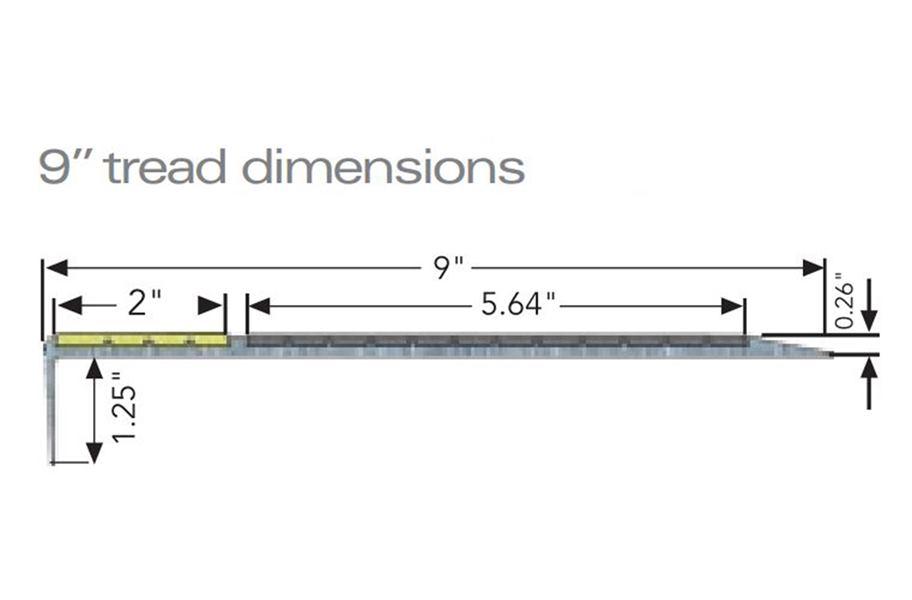 Flexterior Metal Stair Treads Ada Approved Anti Slip