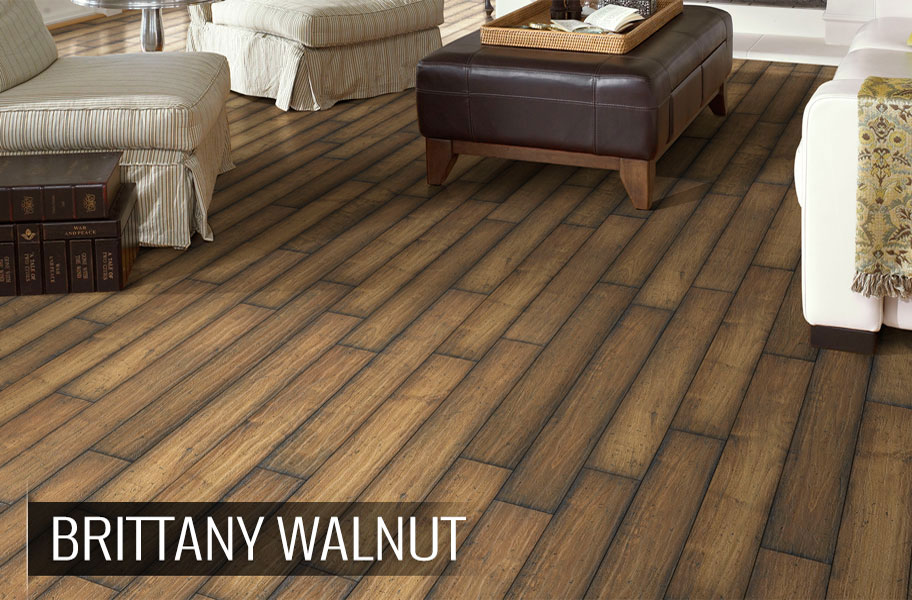 ... 8mm Shaw Chateau Walnut Laminate Flooring ...