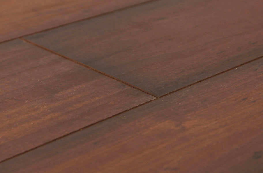 8mm shaw chateau walnut hand scraped laminate flooring for Walnut laminate flooring