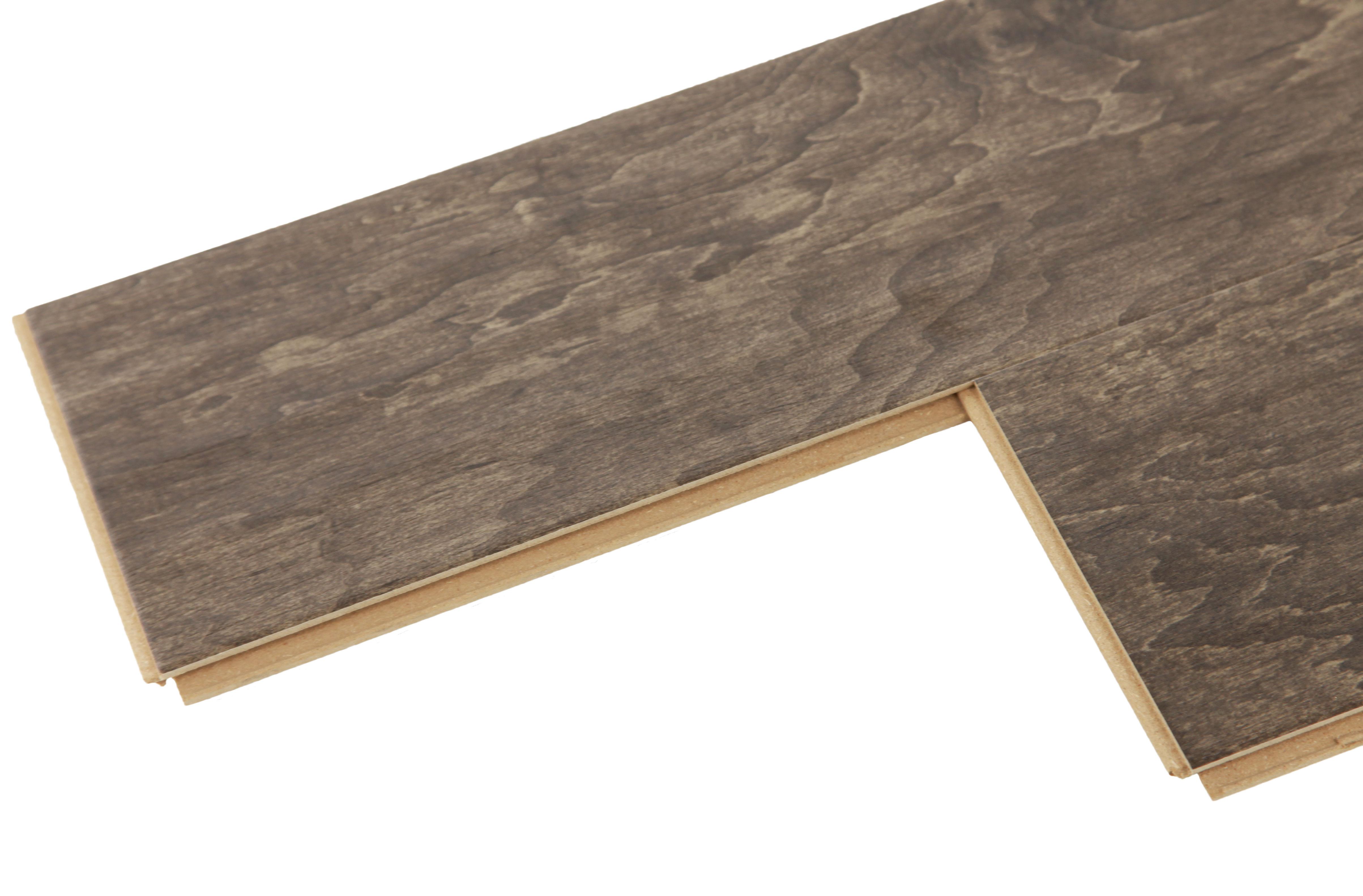 Mega clic baroque wood look and feel laminate flooring for Clic laminate flooring