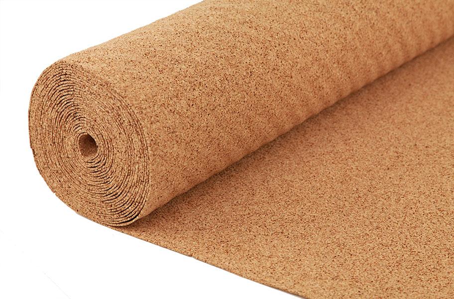Acousticork pr60 flooring underlayment cork sound underlay for Cork playground flooring