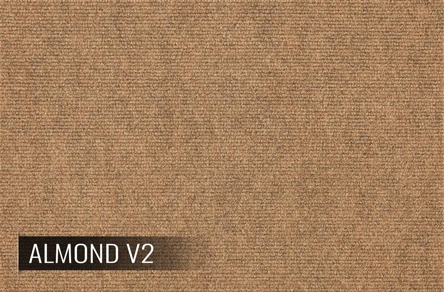 Ribbed Carpet Tiles Residential Modular Carpet Tile