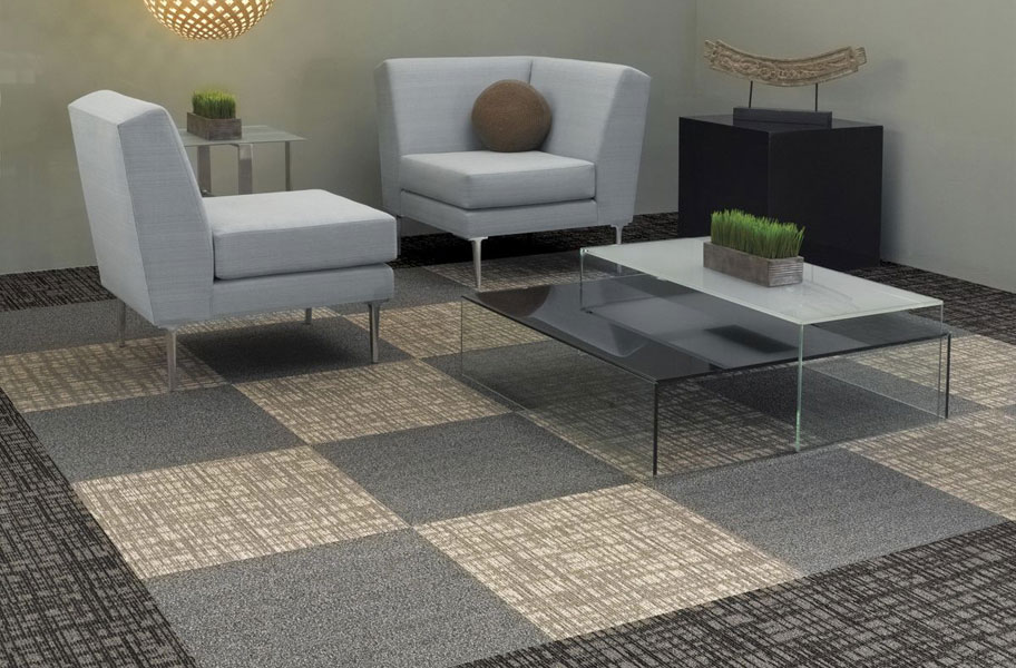 Shaw Mesh Weave Carpet Tiles Commercial Modular Carpet Tiles