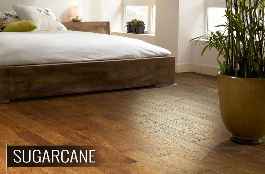 Shaw Brushed Suede Hickory Engineered Hardwood Flooring