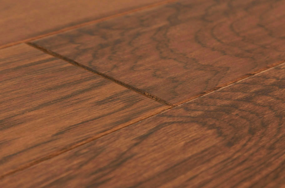 Shaw Camden Hills Hickory Distressed Engineered Hardwood