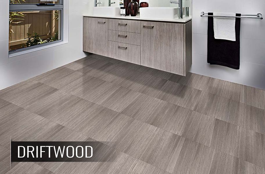 Wood Flex Tiles Interlocking Wood Vinyl Tiles