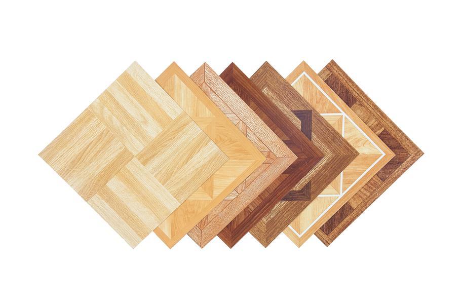 Wood Peel Stick Tile Hardwood Vinyl Flooring