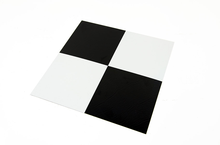 Solid L Stick Vinyl Tile