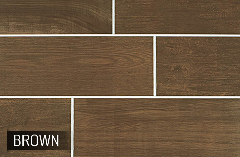 Daltile Emblem Low Cost Wood Look Ceramic Tile