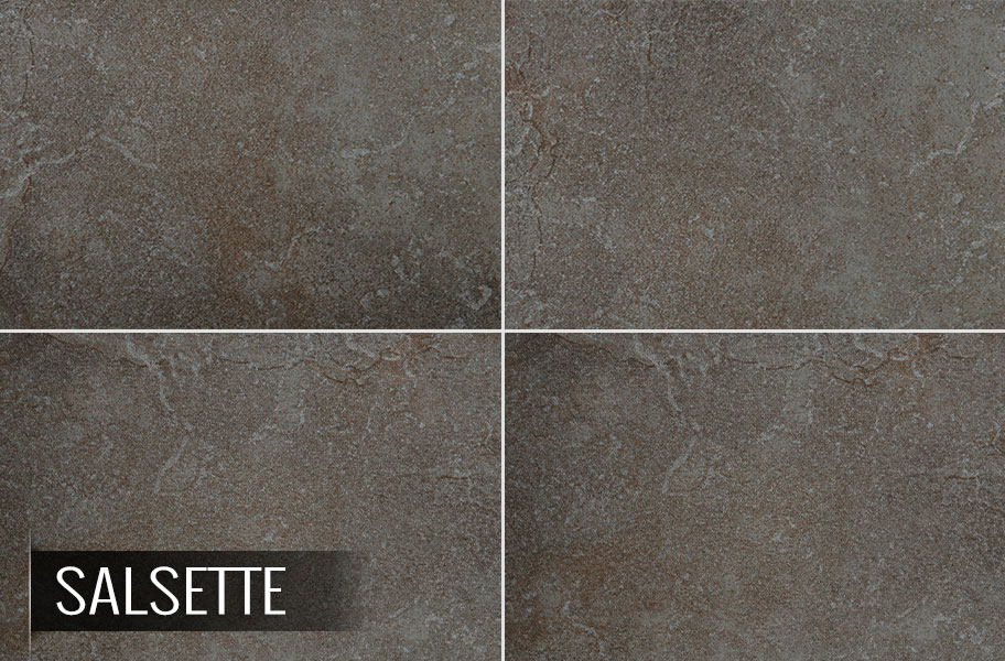 Emser Bombay Porcelain Tile Textured Slate Look Floor Tiles