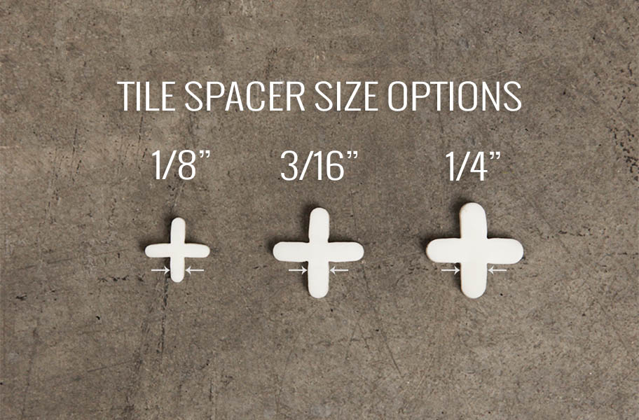3 16 Quot Tile Spacers Plastic Flooring Spacers For Tile
