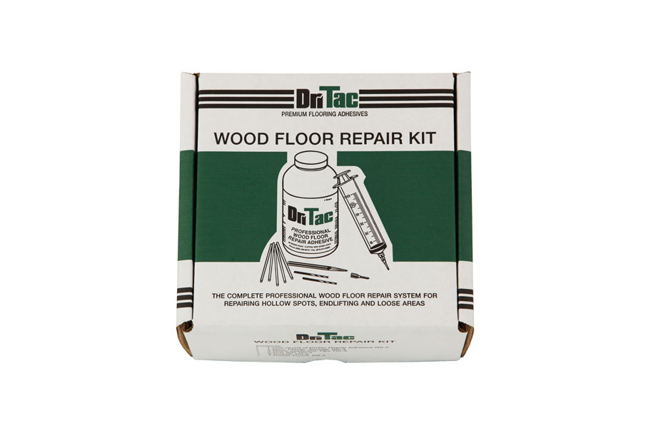 wood floor repair kit fixes hollow floors easily. Black Bedroom Furniture Sets. Home Design Ideas
