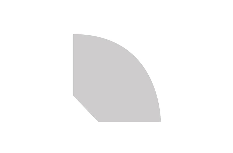 Coretec Plus 5 71 Quot X 94 Quot Quarter Round Molding For Vinyl