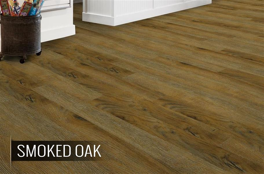 Aged wood vinyl planks luxury look