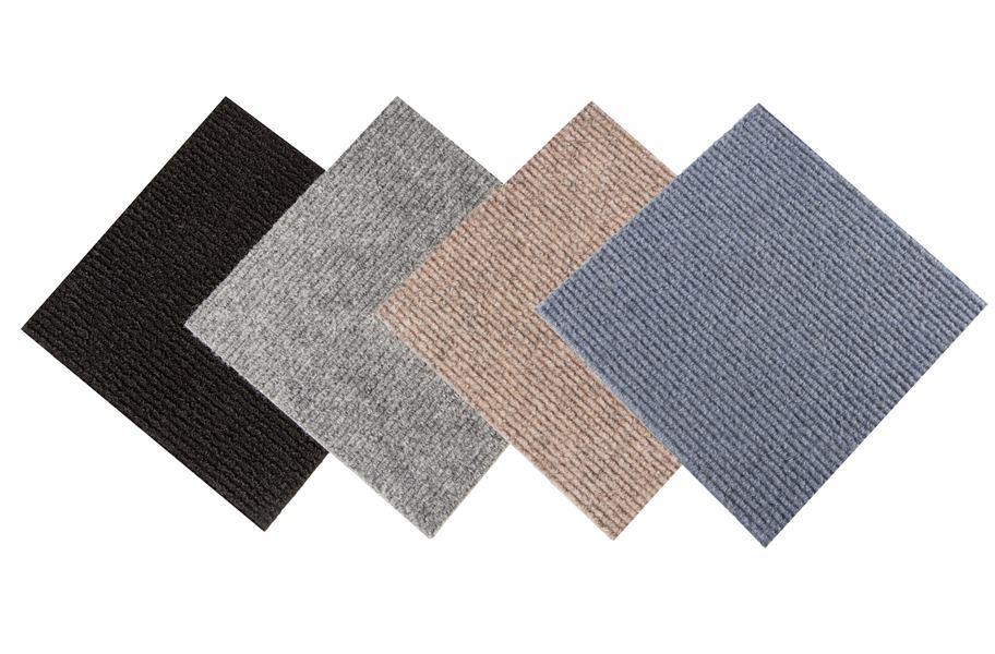 Shaw Living Berber Sand Loop 12 In X 12 In Carpet Tiles ...